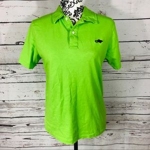 Marc Jacobs Stinky Rat Unisex Polo Shirt Lime S
